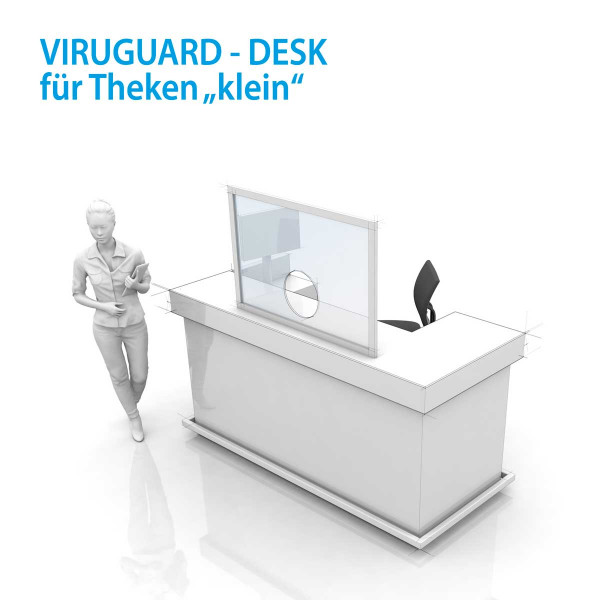 VIRUGUARD - DESK small / M