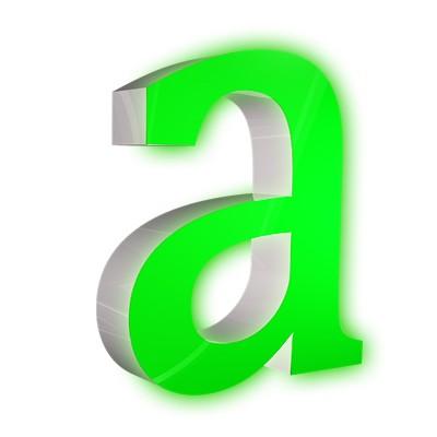 LED Einzelbuchstaben
