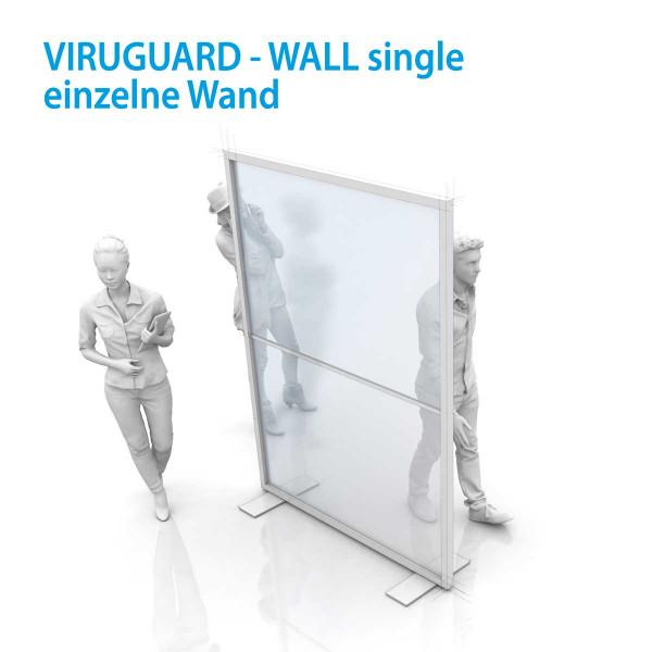 VIRUGUARD-WALL Trennwand / Spuckschutz / Tröpchenschutz
