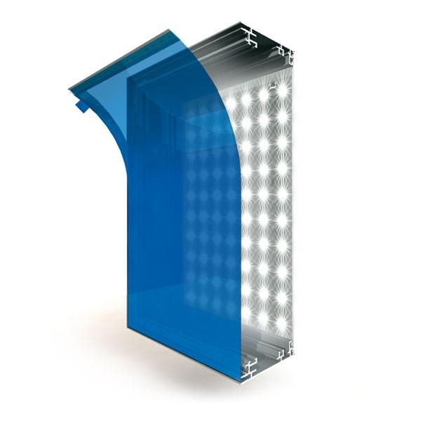 LED-BOX 85 Aluback