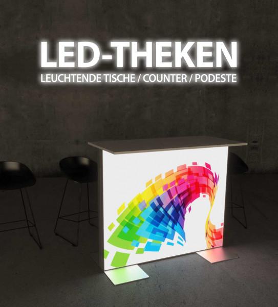 LED-Theke / Aluminium